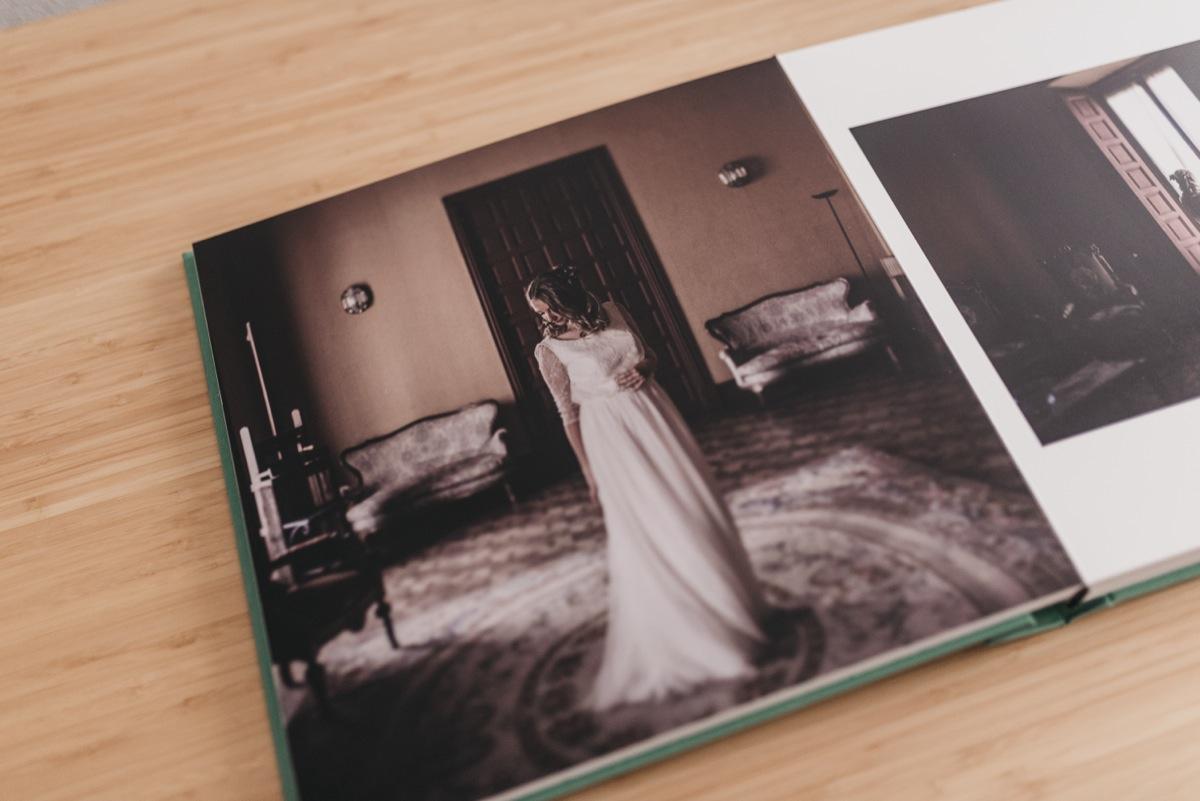 Álbum de boda las fotos de tu boda impresas en papel fotográfico
