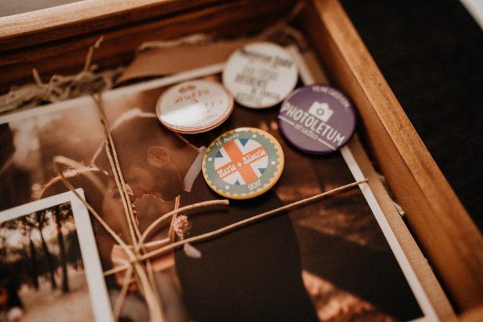Packaging trabajo fotografía y vídeo de bodas en Toledo, fotógrafo y videógrafo de bodas en Toledo, Madrid y España Photoletum Studio